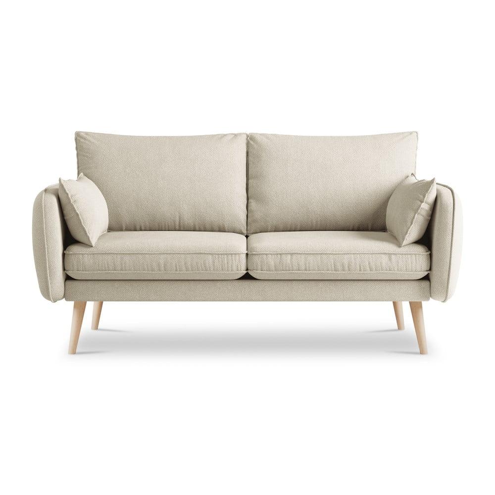 Beżowa sofa Kooko Home Lento, 158 cm