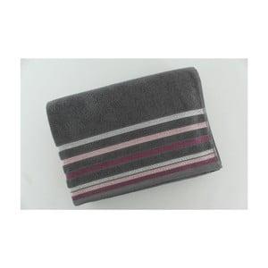 Komplet 2 ręczników Grey Purple, 70x140 cm
