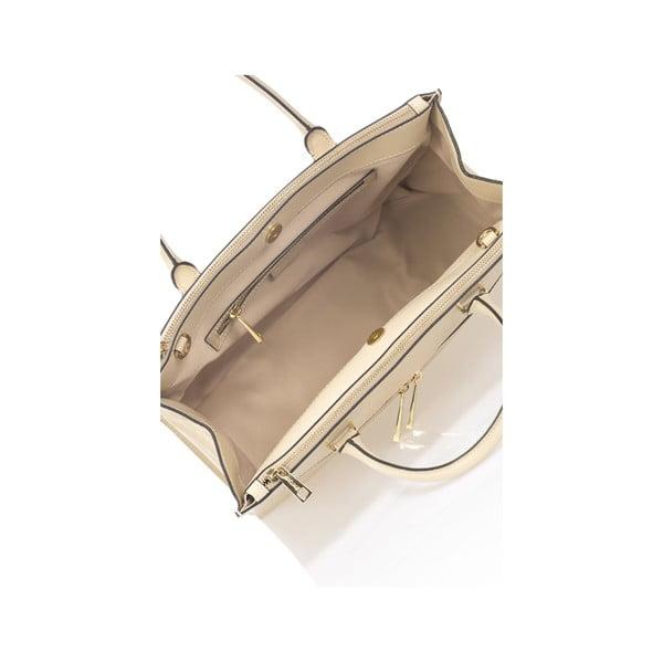 Beżowa torebka skórzana Krole Kate