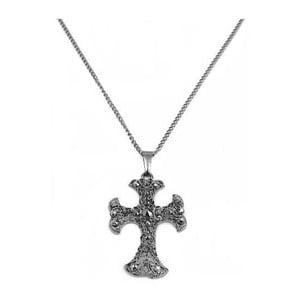 Naszyjnik Hematite Cross