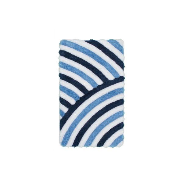 Dywanik łazienkowy Lobby Blue, 65x110 cm