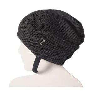Antracytowa czapka ochronna Ribcap Lenny, L