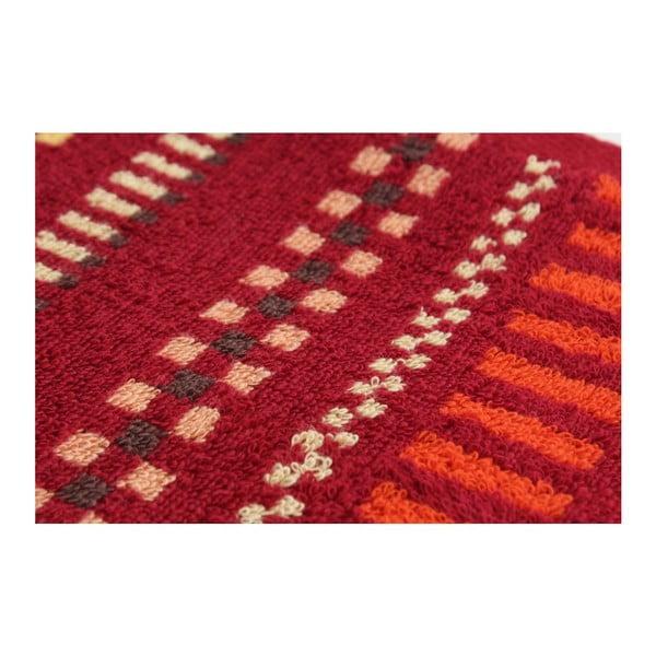 Komplet 2 ręczników Red on Red, 70x140 cm
