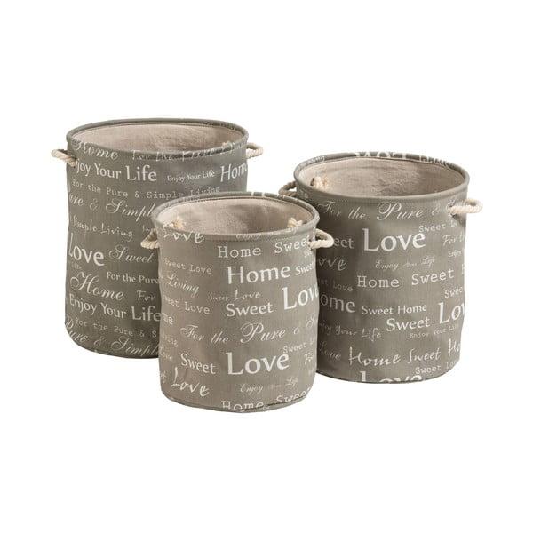Zestaw 3 koszyków Premier Housewares English Words