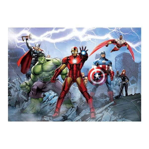 Tapeta wielkoformatowa Bohaterowie Avengers, 158x232 cm