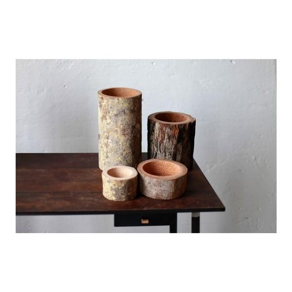 Palmowa świeczka Palm Legno o zapachu miodu, 240 godz.