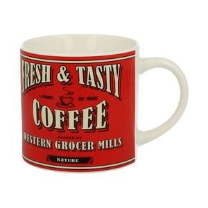 Czerwony kubek porcelanowy Duo Gift Coffee, 430 ml