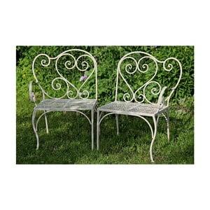 Zestaw 2 krzeseł ogrodowych Veronna
