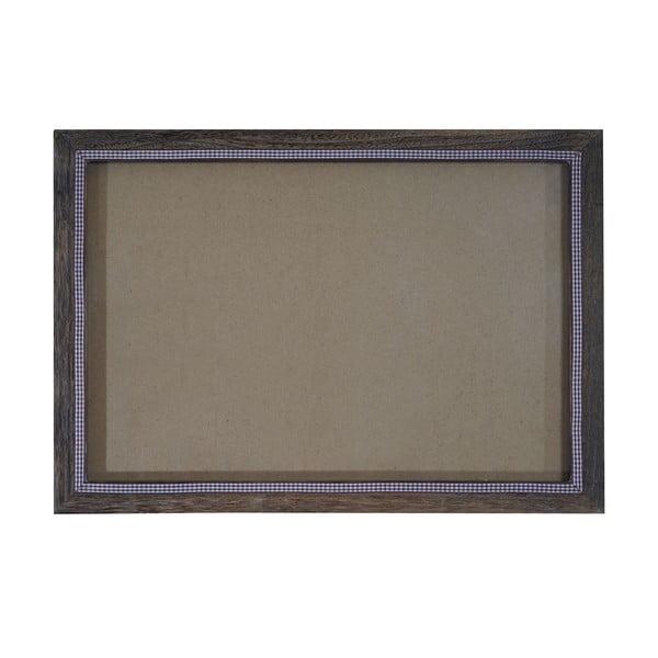 Brązowa ramka na zdjęcia Mendler Shabby, 36x51 cm