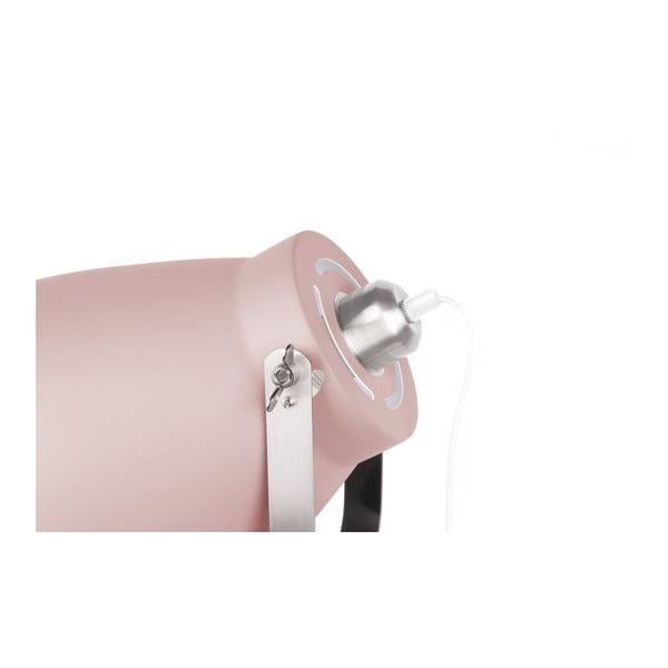Różowa lampa stołowa Leitmotiv Tristar