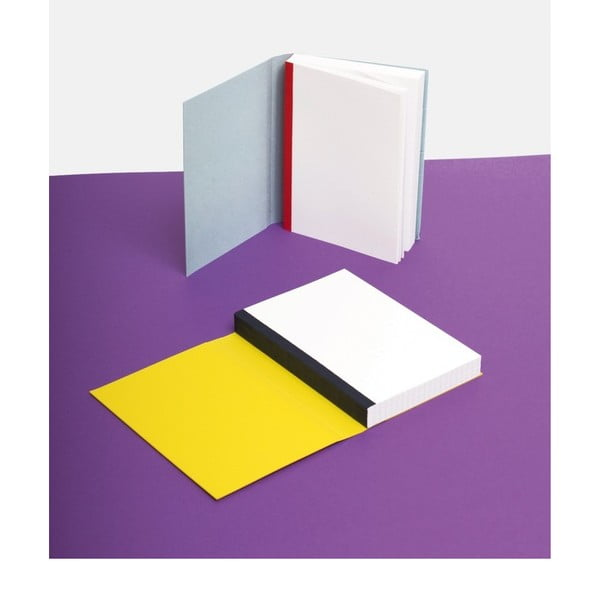 Notes FANTASTICPAPER A6 Lemon/Blue, w linie
