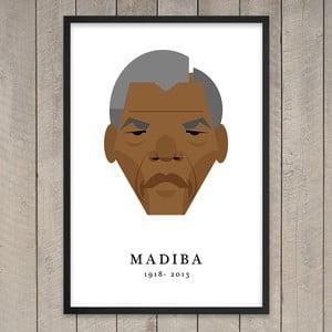 """Plakat """"Nelson Mandela"""", 29,7x42 cm"""