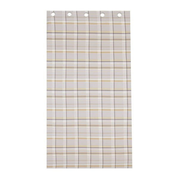 Zasłona St. Ives Check Ochre, 168x183 cm