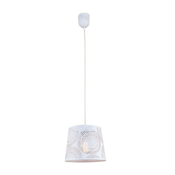 Lampa wisząca Santiago S, biała