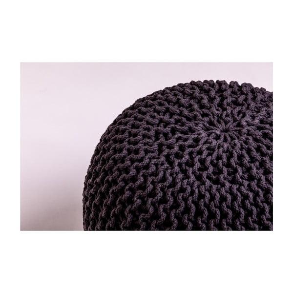 Ciemnoszary puf loomi.design