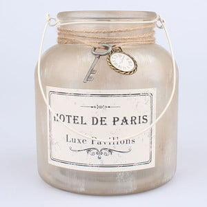 Szklany świecznik wiszący Dakls