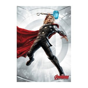 Plakat z blachy Age of Ultron Power Poses - Thor