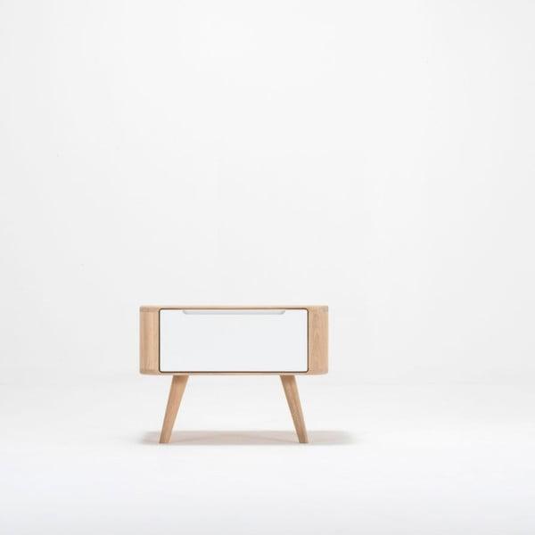 Dębowa szafka nocna Gazzda Ena Two, 55x42 cm