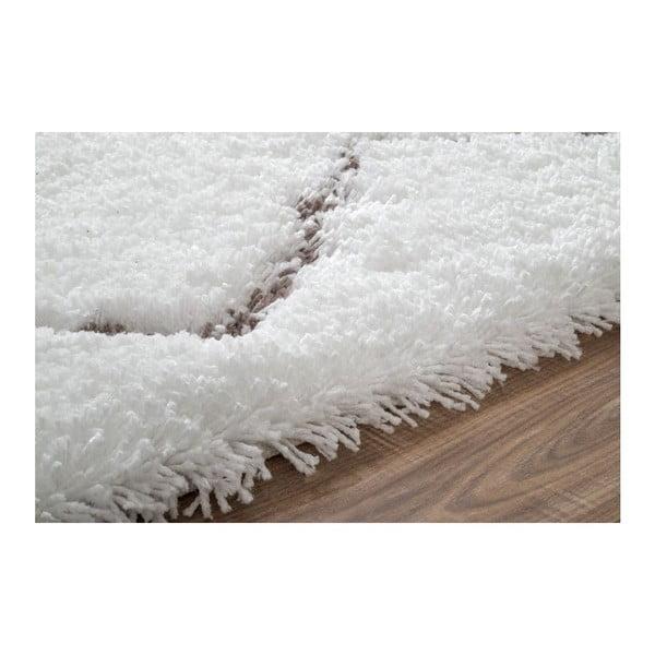 Dywan tuftowany ręcznie nuLOOM Ziggy Natural, 106x168 cm