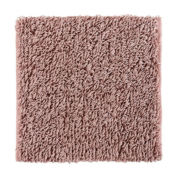Dywanik łazienkowy Talin 60x60 cm, pudrowy