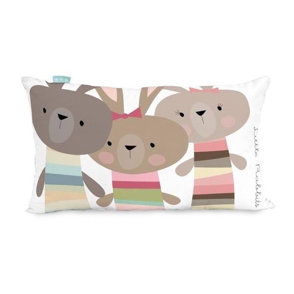 Poszewka na poduszkę Little W Little Rabbits