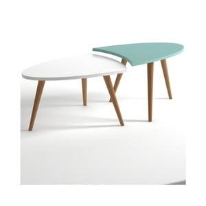 Niebiesko-biały stolik Monte Real