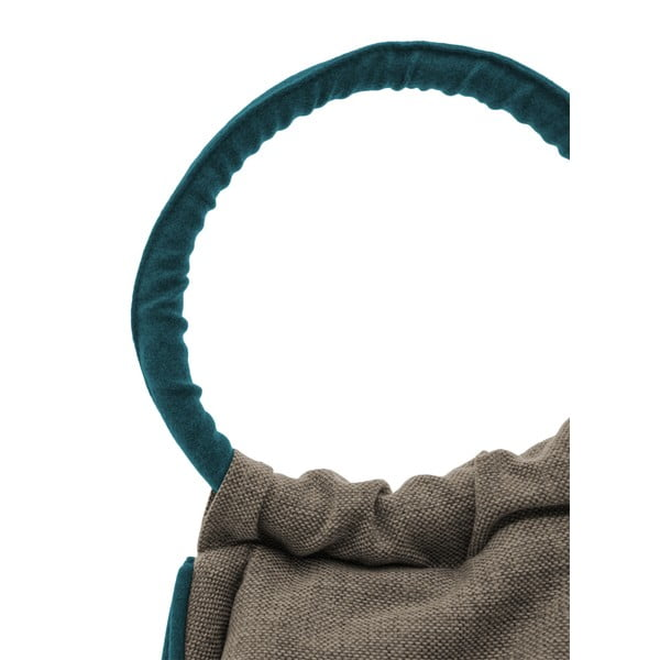 Worek do siedzenia Vivonia Indoor Light Brown/Dark Turquoise