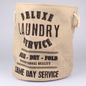 Kosz na pranie Laundry Service, beżowy