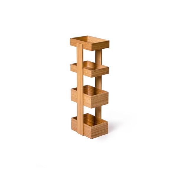 Stojak/szafka łazienkowa Wireworks Caddy Bamboo