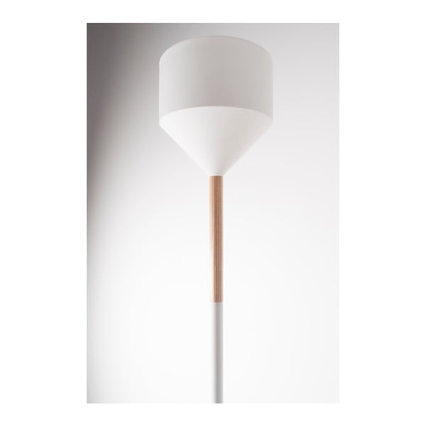 Lampa stojąca Torch White