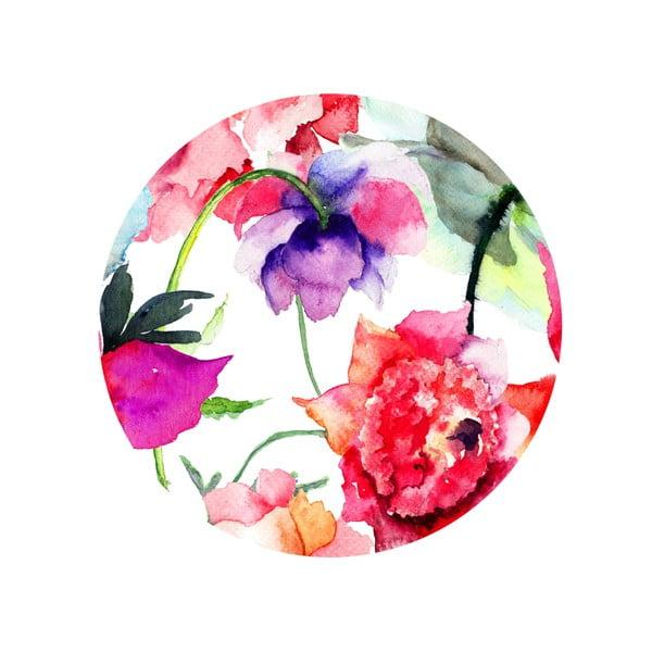 Zestaw 2 stolików Flower Mood, 35 cm + 49 cm
