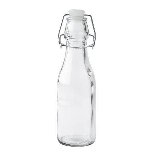 Szklana butelka z zamknięciem, 0,25 l