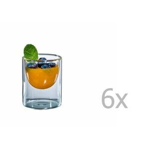 Zestaw 6   mały szklanek bloomix Half Moon