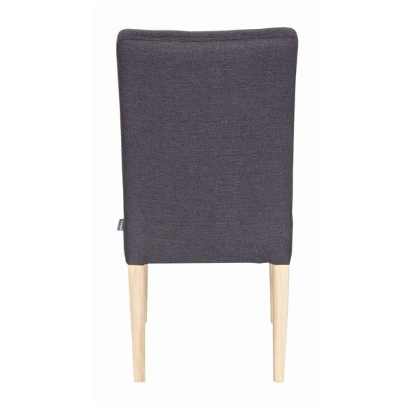 Zestaw 2 krzeseł Tijmen Anthracite Oak