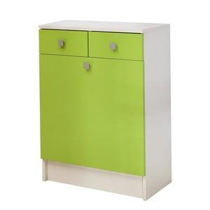 Zielona szafka na bieliznę 13Casa Click
