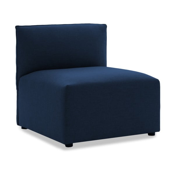 Sofa trzyosobowa VIVONITA Cube Dark Blue z podnogiem