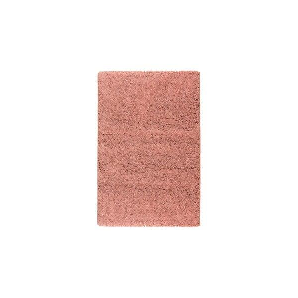 Dywan wełniany Pradera, 90x160 cm, łososiowy