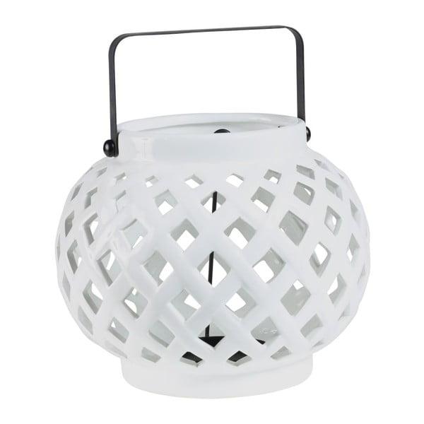 Lampion Crois White, 20x20x16 cm