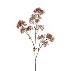 Sztuczny kwiat Skimmia, różowa