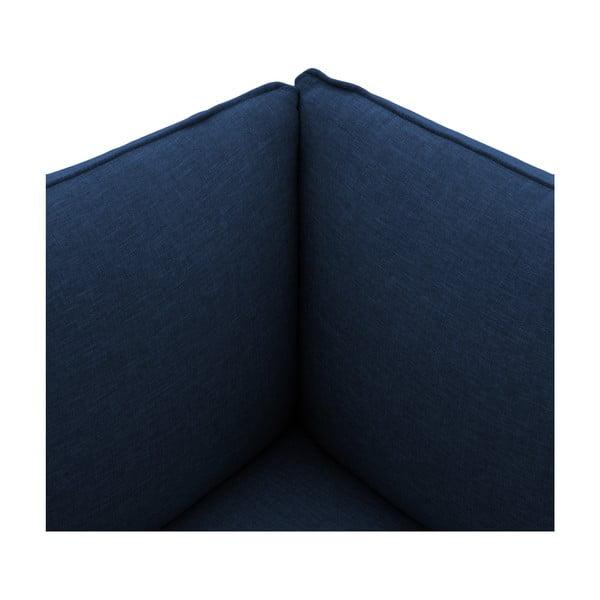Moduł lewostronny do sofy VIVONITA Cube Dark Blue