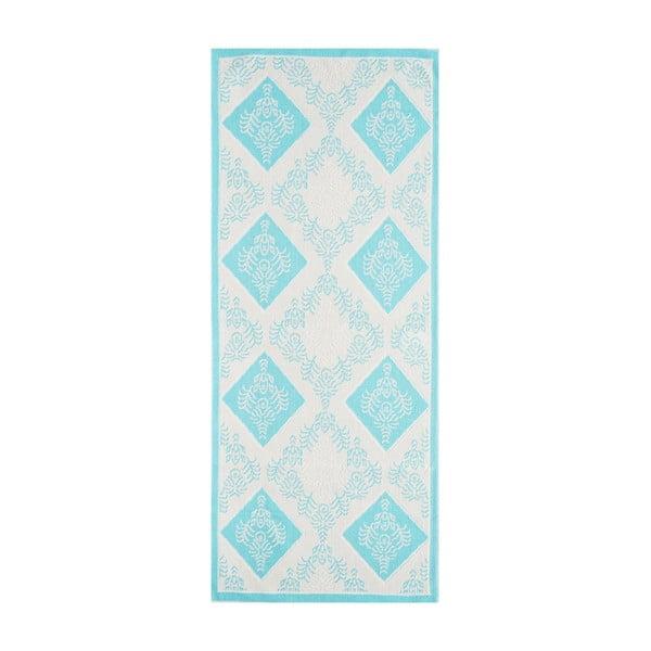 Niebieski wytrzymały dywan Azalea, 100x150 cm