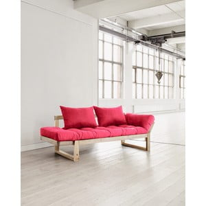 Sofa Karup Edge Natural/Magenta