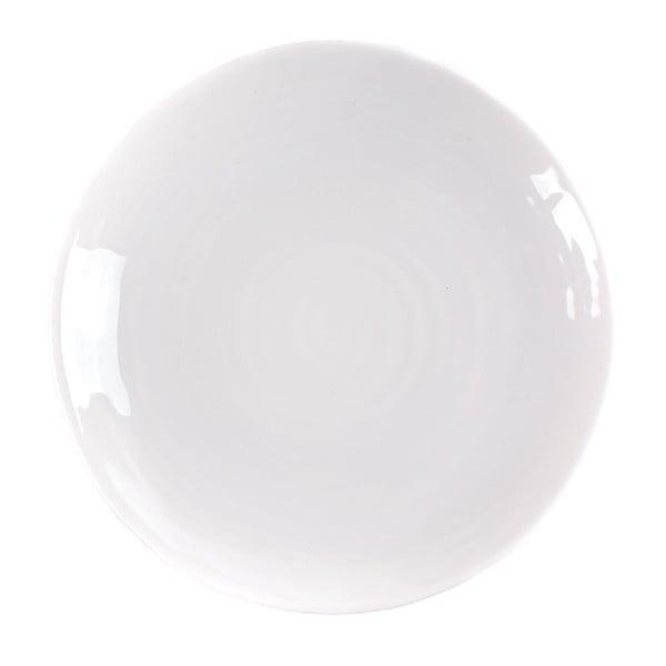 Talerz Earth 27 cm, biały