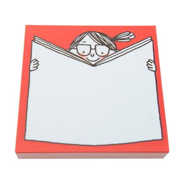 Zestaw karteczek samoprzylepnych Ohh Deer Girls With Books