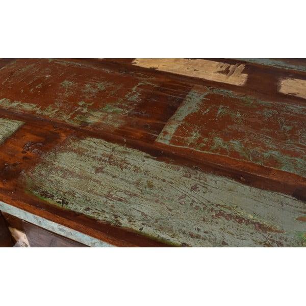 Stolik z teczyny Goa, 90x63 cm