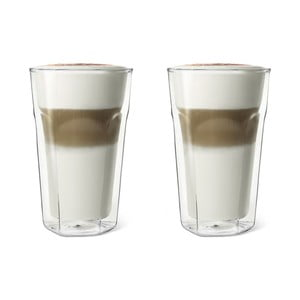 Szklanki z podwójną ścianką Bredemeijer Latte Macchiato, 350 ml, 2 szt.