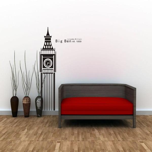 Naklejka dekoracyjna Big Ben, 100x50 cm