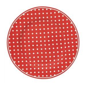 Talerz Spot Red, 20,5 cm