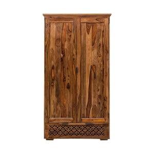 Szafa z litego drewna palisandru Massive Home Rosie, 120x200cm