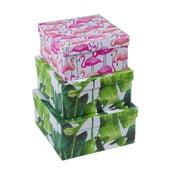 Zestaw 3 pudełek Tri-Coastal Design Palm Beach Chic